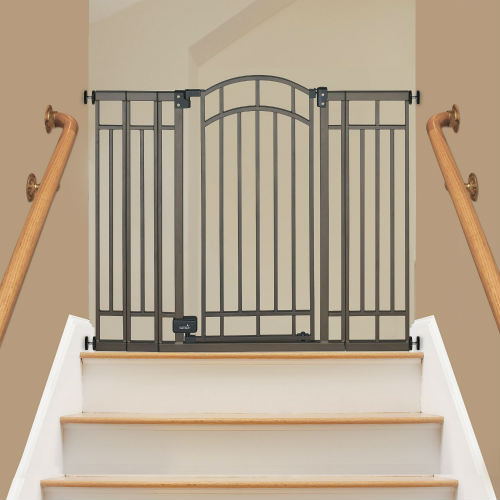 Summer Infant Deco Extra Tall Walk-Thru Baby Gate For Stairs