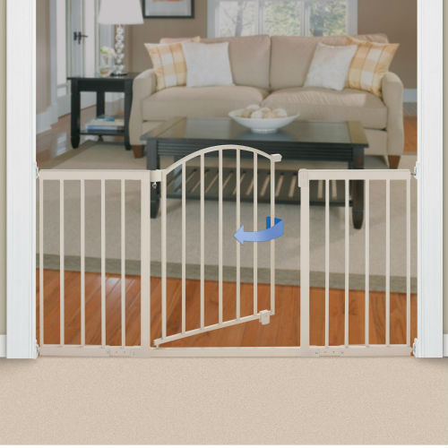 Summer Infant Metal Expansion Gate, Cream ...