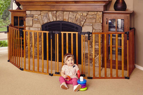 The Best Wooden Baby Gates Of 2019 Baby Gate Guru
