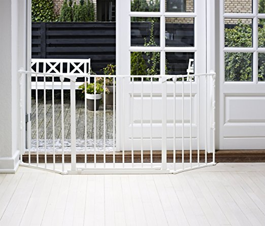 Fireplace Baby Gate - Baby Dan Flex Safety Gates