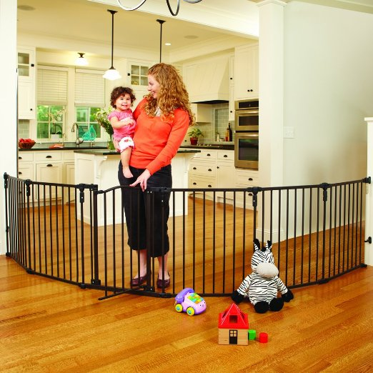 Fireplace Baby Gate - North States Superyard 3 In 1 Arched Decor Metal